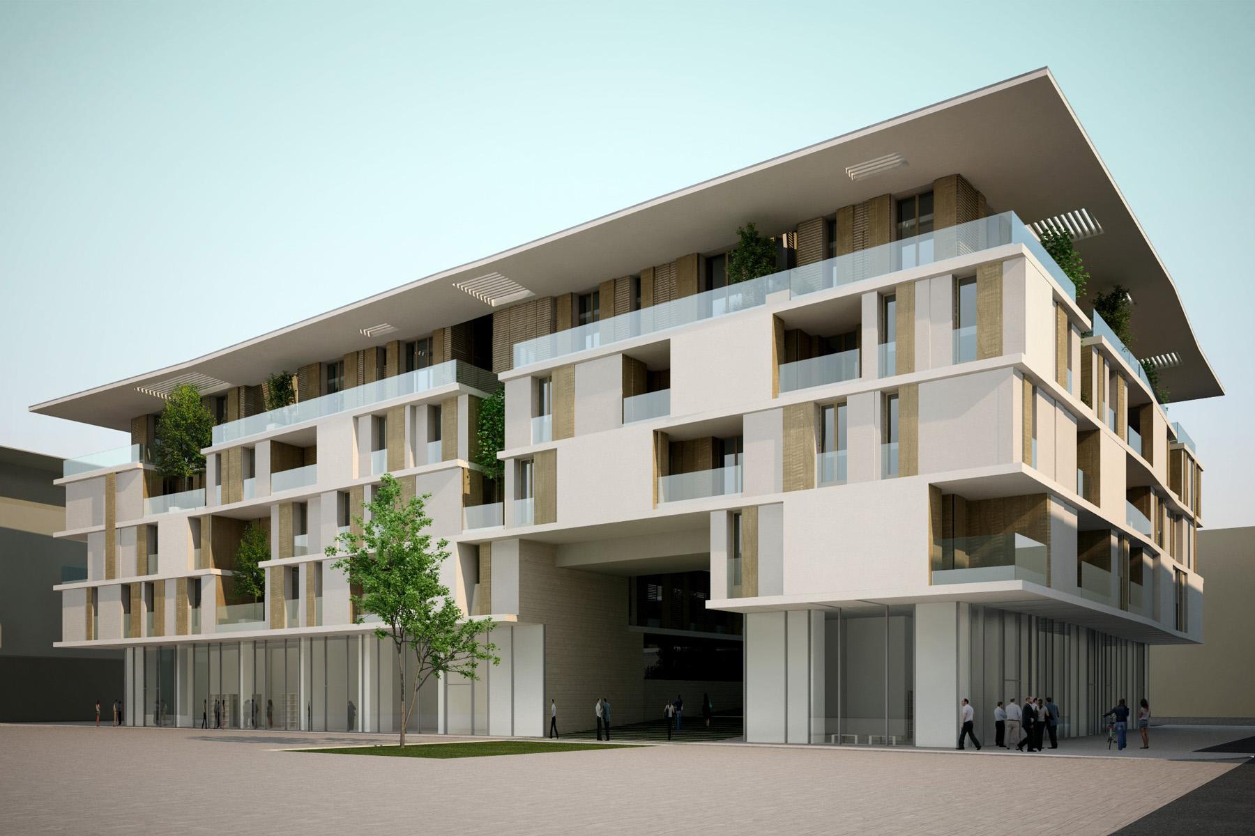 Alessandro bucci architetti for Progettazione di piani abitativi residenziali