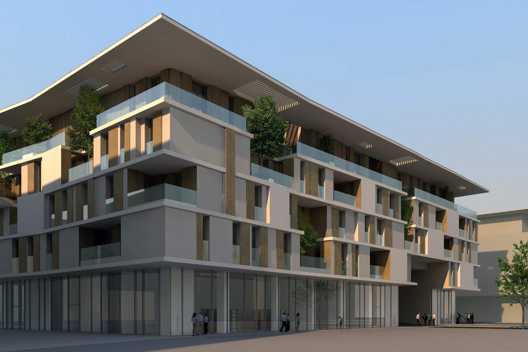Alessandro bucci architetti for Piani di costruzione di edifici residenziali in metallo